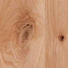 Red Oak Rustic Knotty Finish Grade
