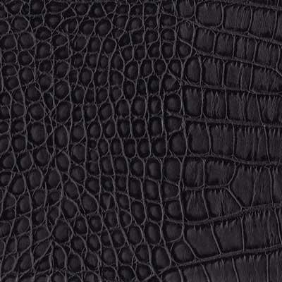Leather Black Alligator (SS126)