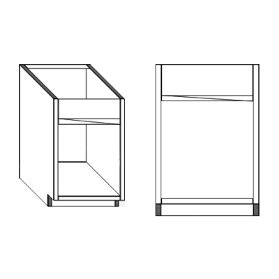 sink vanity cabinet components