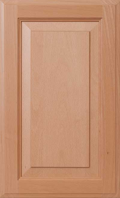 European Steamed Beech Wood Cabinet Door Materials