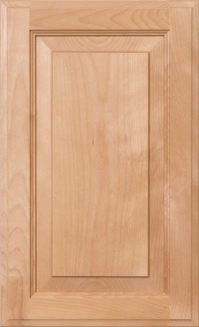 White Birch Wood Cabinet Door And Drawer Materials