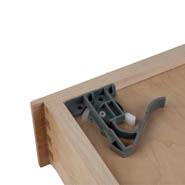 Undermount Glide Clips - Uninstalled