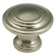 Brushed Nickel Traditional Knob