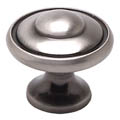 Brushed Black Nickel Bead Knob