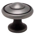 Brushed Antique Pewter Bead Knob