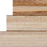 """3/4"""" Plywood Sheet - White Back - No Band"""
