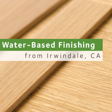 Water-Based Finishing