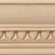 Crown Molding O with Insert E