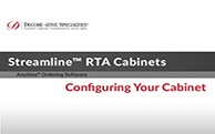 Streamline™ RTA Cabinets - Configuring Your Cabinet