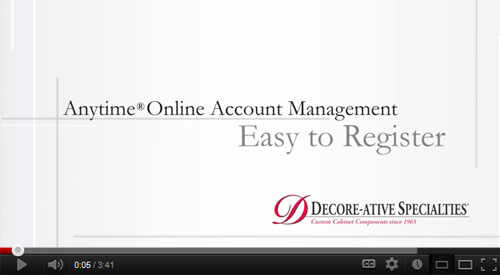 How-To Register for Anytime® Online Ordering